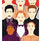 Many People In This Hotel (Faces & Movies) by Alain Bossuyt