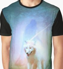 Jon and ghost Graphic T-Shirt