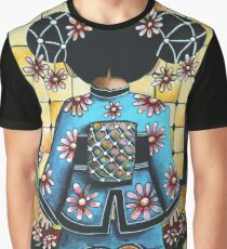 Asia Blue Graphic T-Shirt