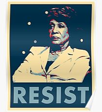 Auntie Maxine RESIST Poster