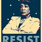 Auntie Maxine RESIST by Thelittlelord