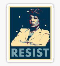 Auntie Maxine RESIST Sticker