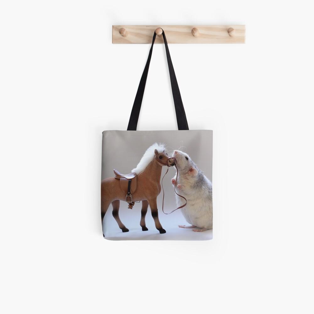 Ich liebe Pferde! Stofftasche