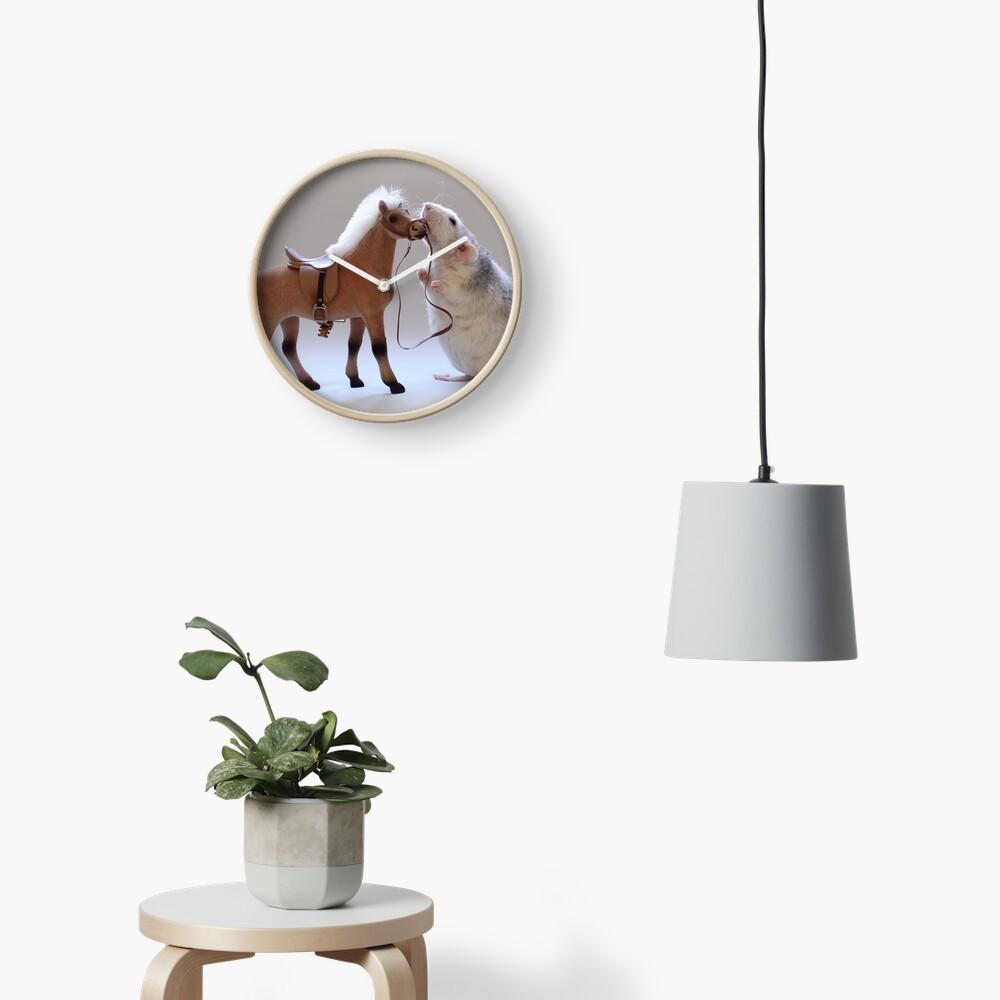Ich liebe Pferde! Uhr