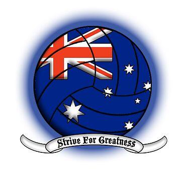 Australian Volleyball by devoutalcoholic