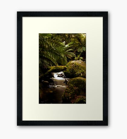 Flowing Framed Print