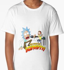 rick and morty Long T-Shirt