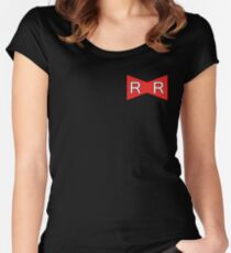 Red Ribbon Army- Bragon Ball Women's Fitted Scoop T-Shirt