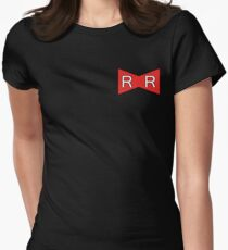Red Ribbon Army- Bragon Ball Womens Fitted T-Shirt
