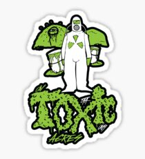 On Toxic Acres Sticker