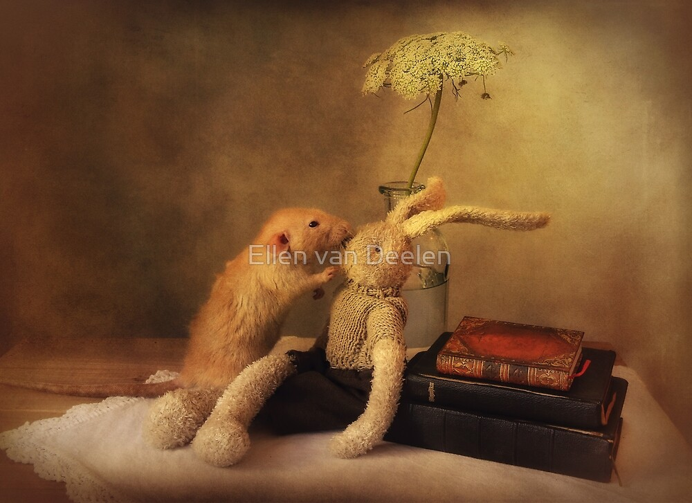 Poppy in still life by Ellen van Deelen