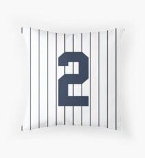 Number 2 Pinstripe Design Throw Pillow