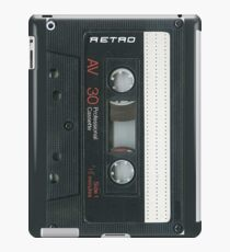 Cassette Tape 30 iPad Case/Skin