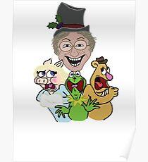 John Denver Muppet Attack Poster
