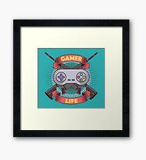 Gamer Life Framed Print