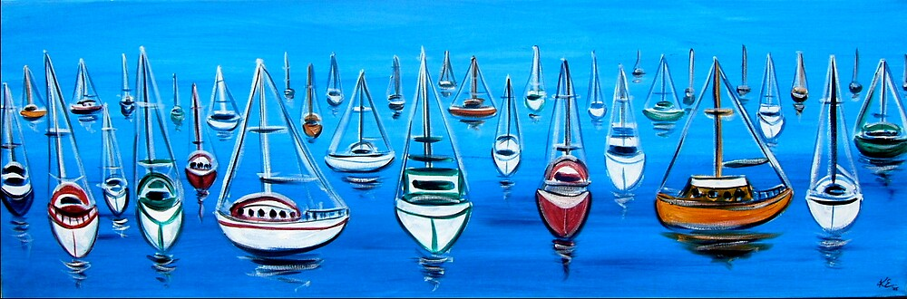 Boats by Kylie Blakemore