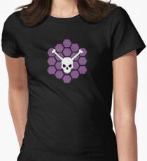 Skeleton Crew Hex - MST3k Womens Fitted T-Shirt