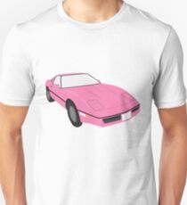 Pink Delorean 80's Dream Barbie doll Car Unisex T-Shirt