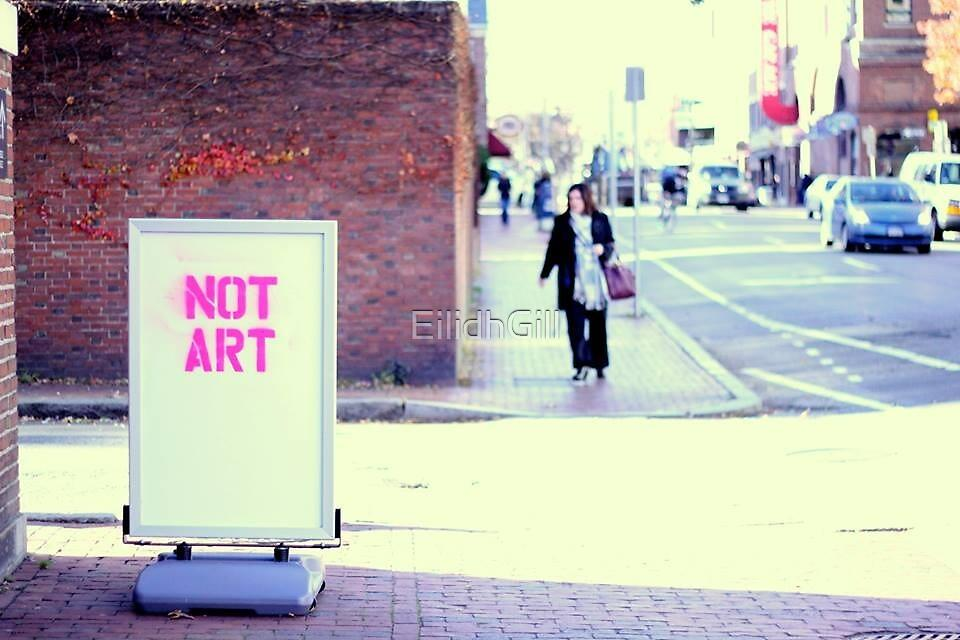 Not Art by EilidhGill