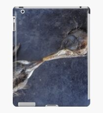 The death kiss of two birds iPad Case/Skin