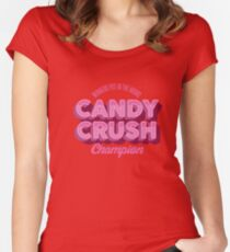 Candy Crush Champion Women's Fitted Scoop T-Shirt