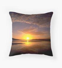 Ralphs Bay Sunset 2, Tasmania Throw Pillow