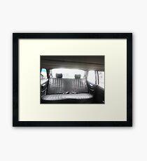 LIMOUSINE COSTA RICA W123 LONG WHEELBASE 300D MERCEDES SEDAN Framed Print
