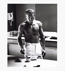 Steve McQueen Making Coffee  Photographic Print