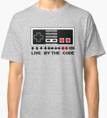 Nintendo Konami - Live by the Code (NES) Classic T-Shirt