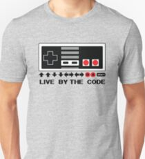 Nintendo Konami - Live by the Code (NES) T-Shirt