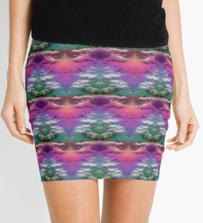 Ocean Rainbow - Side by Side Mini Skirt