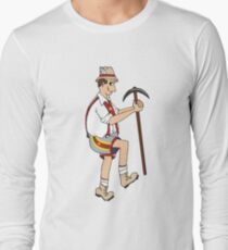The Price is Right - Cliff Hanger Yodely Guy Long Sleeve T-Shirt