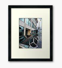 COSTA RICA LIMOUSINE LONG WHEELBASE 300D W123 MERCEDES Framed Print