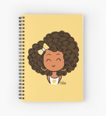 Little Curly Girl Cahier à spirale