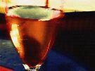 A Glass Of Wine by ArtOfE