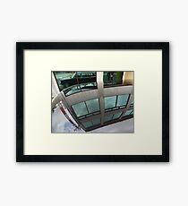 COSTA RICA LIMOUSINE 1984 300D MERCEDES W123 LONG WHEELBASE SEDAN Framed Print