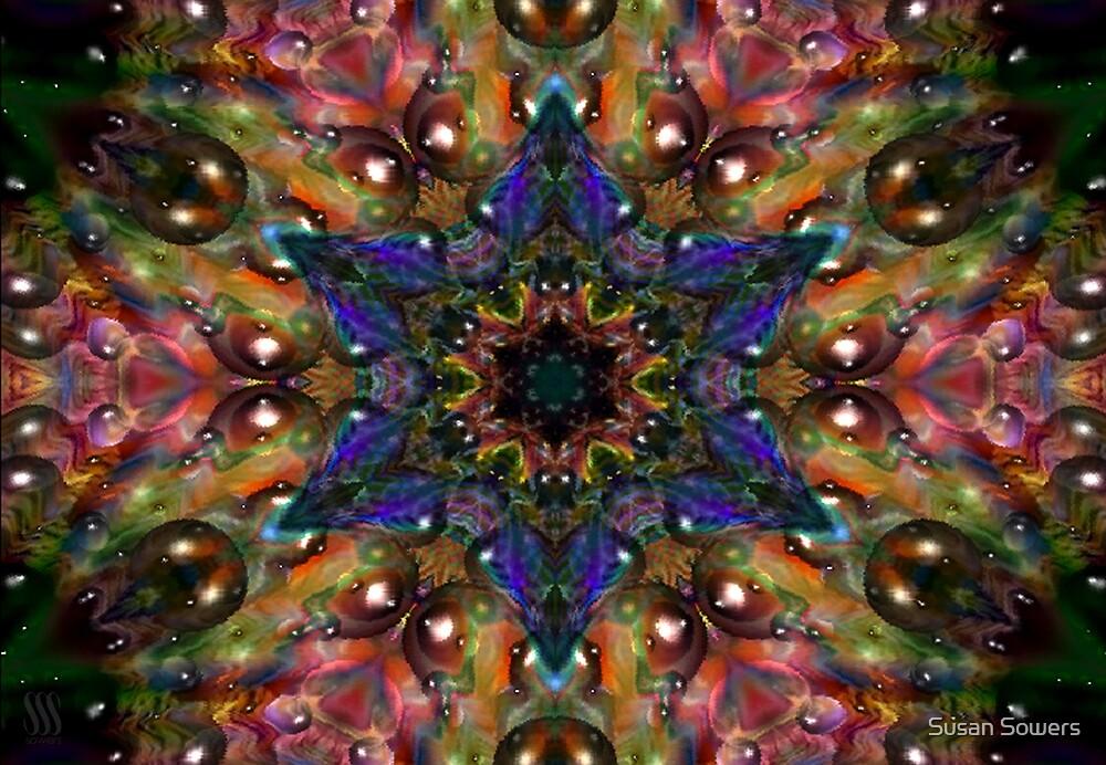 Kaleidoscope Water Series03 by Susan Sowers