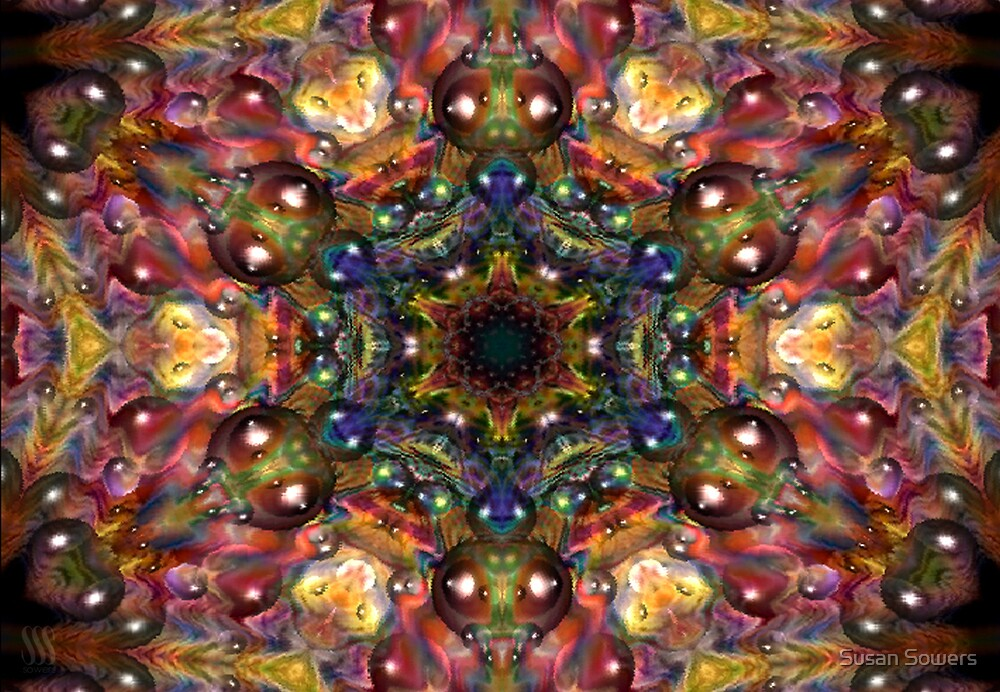 Kaleidoscope Water Series04 by Susan Sowers