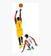 Kyrie Irving Shot Over Brandon Knight  Photographic Print