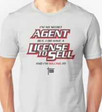 License to Sell - Real Estate Unisex T-Shirt