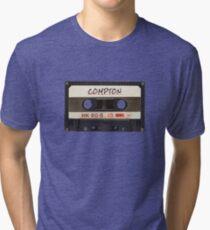 Compton Cassette Tri-blend T-Shirt