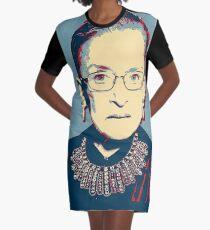 Notorious RBG I DISSENT Graphic T-Shirt Dress