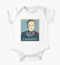 Notorious RBG I DISSENT One Piece - Short Sleeve