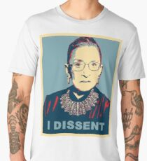 Notorious RBG I DISSENT Men's Premium T-Shirt