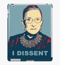 Notorious RBG I DISSENT iPad Case/Skin
