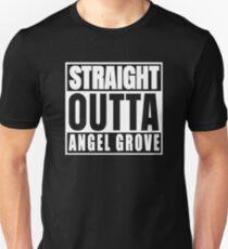 Master Straight Outta - Angel Grove T-Shirt