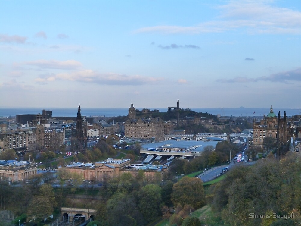 Edinburgh Panorama by Simons-Seagull