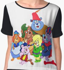 Gummi Bears retro 80s Cartoon Chiffon Top