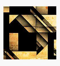 Geometric Shapes Photographic Print