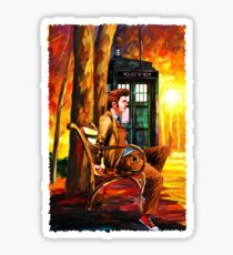 The Time Lord Sticker